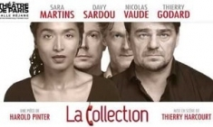 La Collection, de Harold Pinter - Théâtre de Paris - Billets abonnement carte spectacle coffret box culture